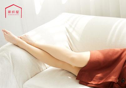 300D柔滑舒适面膜踩脚连裤袜